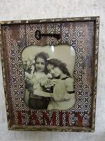 Shabby Chic Landhaus FAMILY Bilderrahmen Vintage Holz mit Bildern