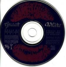 GREAT WHITE House of Broken Love RARE EDIT PROMO radio DJ CD Single 1989 USA
