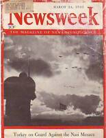 1941 Newsweek March 24-Boom in Indian Motorcycles