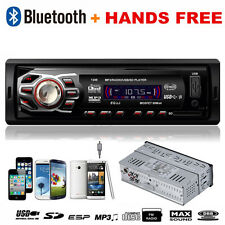 In Dash Bluetooth Autoradio Stereo Head Unit MP3 Player Handsfree USB/SD/AUX/FM