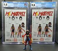 Ms Marvel #1 CGC 9.8 NM/MT McKelvie Design Variant 1st Kamala Khan as Ms Marvel!