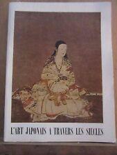 L'Art Japonais à travers les siècles- Musée National d'Art Moderne, 1958