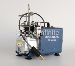 Air Pump Electric High Pressure PCP Compressor 30MPa 300Bar 4500PSI Scuba Diving