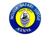 Ngulia Safari Lodge Tsavo West Kenya Travel Luggage Label