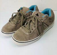 Emerica Men's  B. Herman 2 Skate Skateboarding Shoes Tan Blue Size 9.5