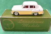 "Lansdowne Models 1956 Hillman Minx ""The Gay Look"" LDM 10 Grey/Yellow Scale 1:43"