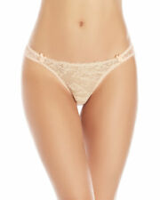 Mimi Holliday Toffee Dazzler M Lace Thong Panty Nude Blush Pink