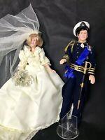 1982 - Princess Diana and Prince Charles - Goldberger - Royal Wedding Dolls