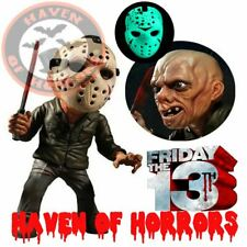 Friday the 13th Jason Voorhees Glow-in-the-Dark Mask Stylized Action Figure