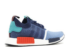 MEN'S ADIDAS NMD R1 PK PACKER BLUE/TEAL/RED BB5051 SIZES 7.5, 9 US YZY Y3