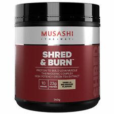 Musashi Shred And Burn Vanilla 2kg