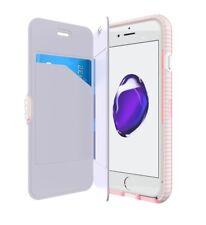 Tech21 iPhone SE 2nd Gen (2020) Evo Wallet Card/Money Flip Case Cover Rose/Pink