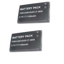 TWO 2 Batteries for VholdR Contour+ Contour+2 Plus HD Helmet Camera #1500 #1700