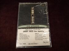 "JIMMY REED ""NOW APPEARING"" CS TAPE SEALED VEE JAY USA 1984 LIVE GUITAR BLUES ETC"