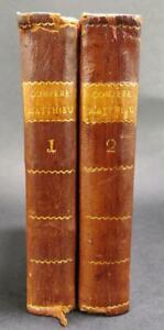 Immoral & Antiauthoritarian Livre 1766 Le Compere Mathieu Henri-Joseph Du