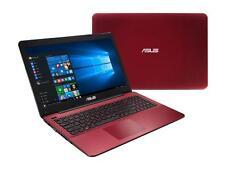 "New Asus X555DA 15.6"" FHD Laptop- AMD Quad Core A10-8700P, 8GB,1TB, DVD,HDMI Red"