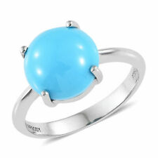 'Rhapsody' 3ct AAAA  Sleeping Beauty Turquoise Solitaire in 950 Platinum **NEW**