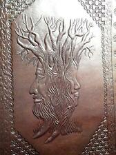 TreeBeard from Lord of the Rings - Luxury Handmade Leather A4 Binder Portfolio