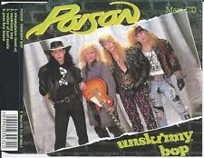 POISON - Unskinny bop CD MAXI 4TR Rock 1990 WEST GERMANY PRINT
