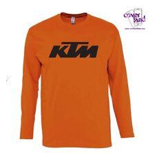 T-Shirt maglietta Arancione UOMO GIROCOLLO MANICA LUNGA - KTM READY TO RACE