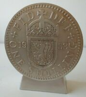Enesco Collectable - One Shilling Shaped - Giant Coin Money Box - Piggy Bank