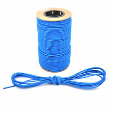 SHOCK CORD 3MM 5MM 8MM 10MM ELASTIC BUNGEE ROPE TIE DOWN TENT WHITE BLACK BLUE