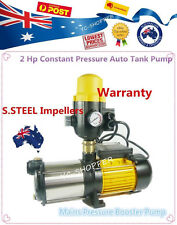 2HP Multistage High Pressure Water Tank Pump - Large House 11100L/H AUTOMATIC