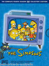 The SIMPSONS: The COMPLETE Season 4 DVD TV SERIES BRAND NEW 3-DISCS BOX SET R4