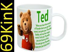 6732 Ted 2 The Movie THUNDER BUDDY teddy cup mug SECRET santa xmas marchandise