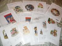 ELLEN MAURER-STROH Counted Cross Stitch Charts, CHOOSE ONE OR ALL!!