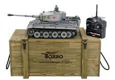 RC carro armato 1:16 Torro Tiger I METALLO Profi 360 ° BB Comitato 2,4 GHz