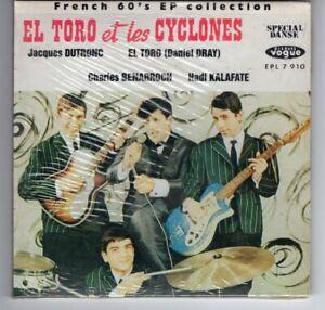 El Toro et les Cyclones French 60s EP CD 22 tit poch ouvr FRA Jacques Dutronc