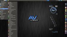 AV Linux-MX Edition. Multimedia Creator Specialist OS. 16/32 GB USB Drive