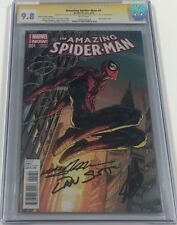 Amazing Spiderman #1 Variant Signed Stan Lee / Dan Slott / Neal Adams CGC 9.8 SS