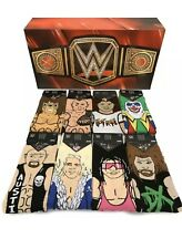 WWE Socks Legends Gift Set Limited Edition ODD SOX Sizes 6-13 8 Pairs Of Socks