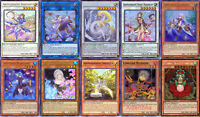 Yugioh Aroma Aromage Deck - Ancient Sacred Wyvern Lonefire Blossom Jasmine