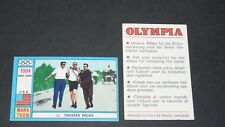 33 1904 USA HICKS PANINI OLYMPIA 1896 - 1972 JEUX OLYMPIQUES OLYMPIC GAMES