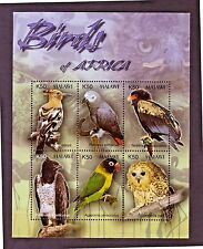 MALAWI 2003 BIRDS OF AFRICA MINI SHEET SG MS 1018