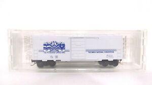 Special Run Kadee Micro Trains N White Pittsburgh NMRA Single Door Box Car NEW?