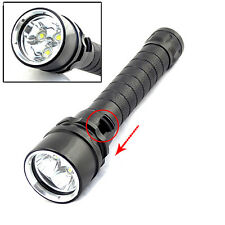 Brightly 8000Lumen 3x XM-L2 LED Diving 18650 Flashlight Torch Lamp Max 100M Hot