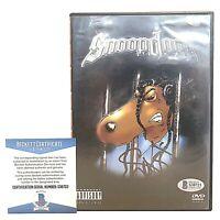 Snoop Dogg Signed Lay Low Music Video DVD Cover Rap Beckett BAS Cert Autograph