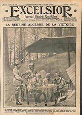 Bivouac Bataille de L'Yser Quartier Général Officiers Tente Algèbre 1915 WWI