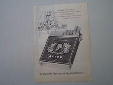 advertising Pubblicità 1960 SIGARETTE CIGARETTES ASTOR