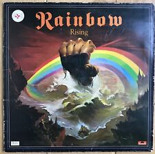"Blackmore's Rainbow ‎– Rainbow Rising 12"" Vinyl LP Rock Hard Rock 290 137 EX"