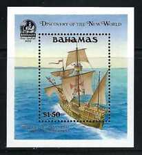 Bahamas 1991 Sc#729  Discovery of America-Pinta's Crew Sights Land  MNH S/S $13