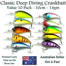 Fishing Lures Freshwater Yellowbelly Murray Cod Redfin Bass Jacks Barra Flathead