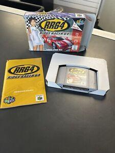 NINTENDO 64 Ridge Racer N64 Boxed COMPLETE PAL EXC!!