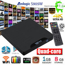 W95 TV Box Android 7.1 QuadCore H.265 1GB/8GB 4K 1080P WiFi HD Media Player
