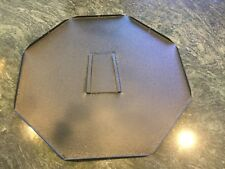 Electric neon clock company cleveland re production 8 sided back panel new