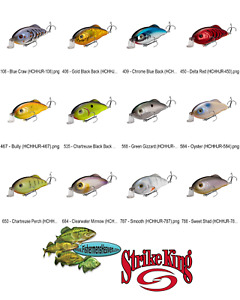 Strike King Crankbait Hybrid Hunter Jr. 1/2oz (HCHHJR) Pick Any 12 Colors Lures